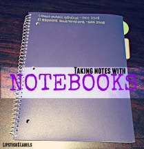 Notes with Notebooks